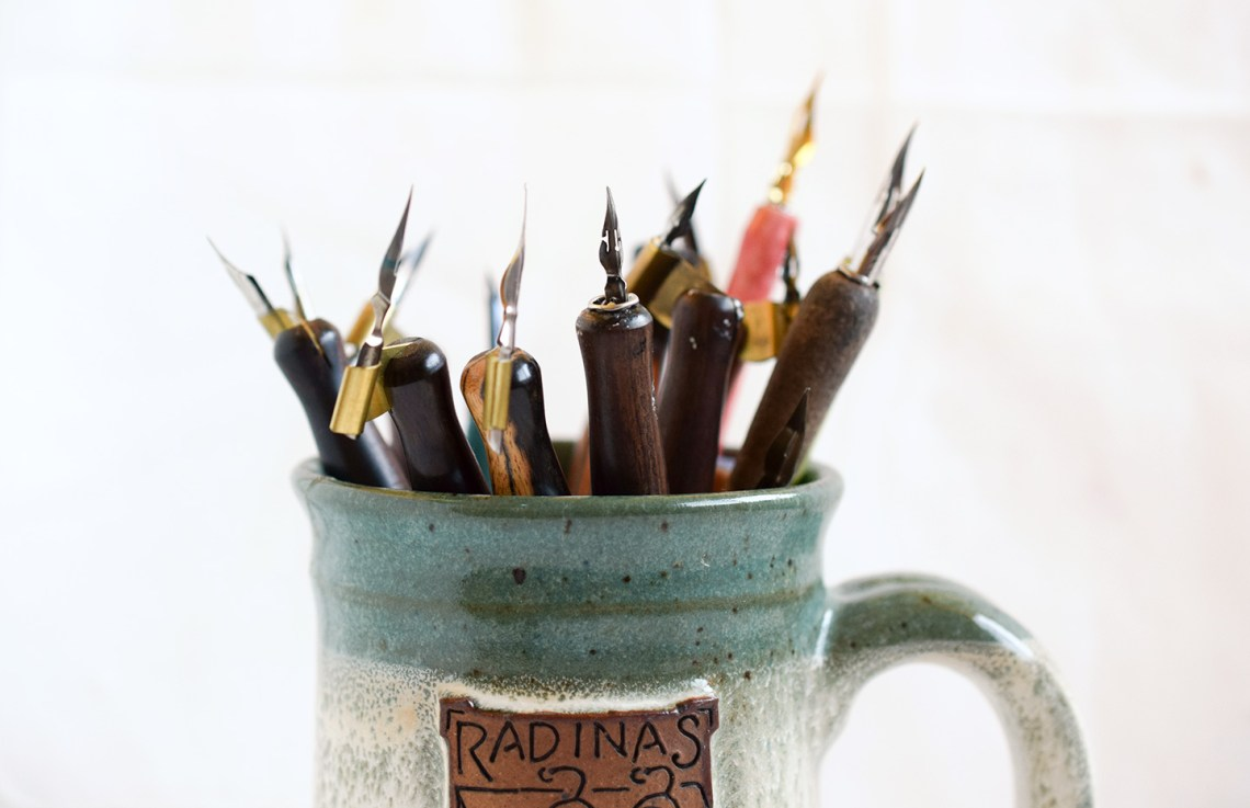 Six Tips for Taming Calligraphy Nibs   The Postman's Knock