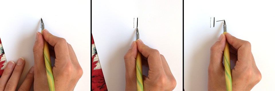 How to Hold a Calligraphy Pen (Includes Videos) | The Postman's Knock