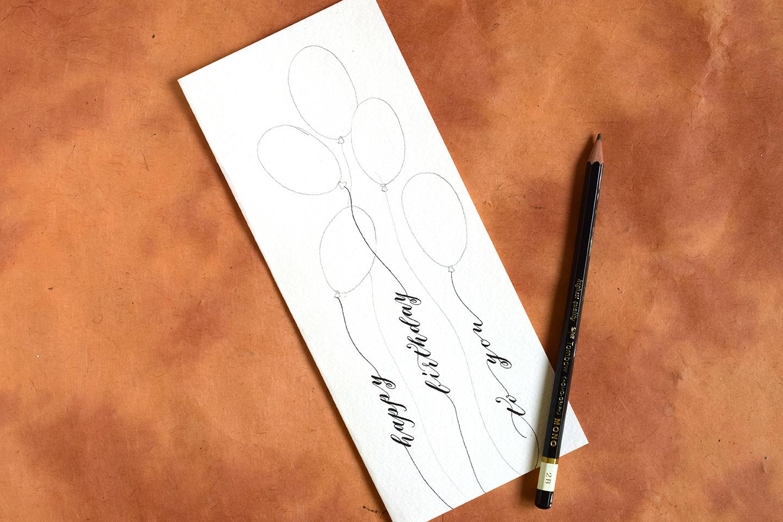 Quick Balloon Birthday Card Tutorial | The Postman's Knock