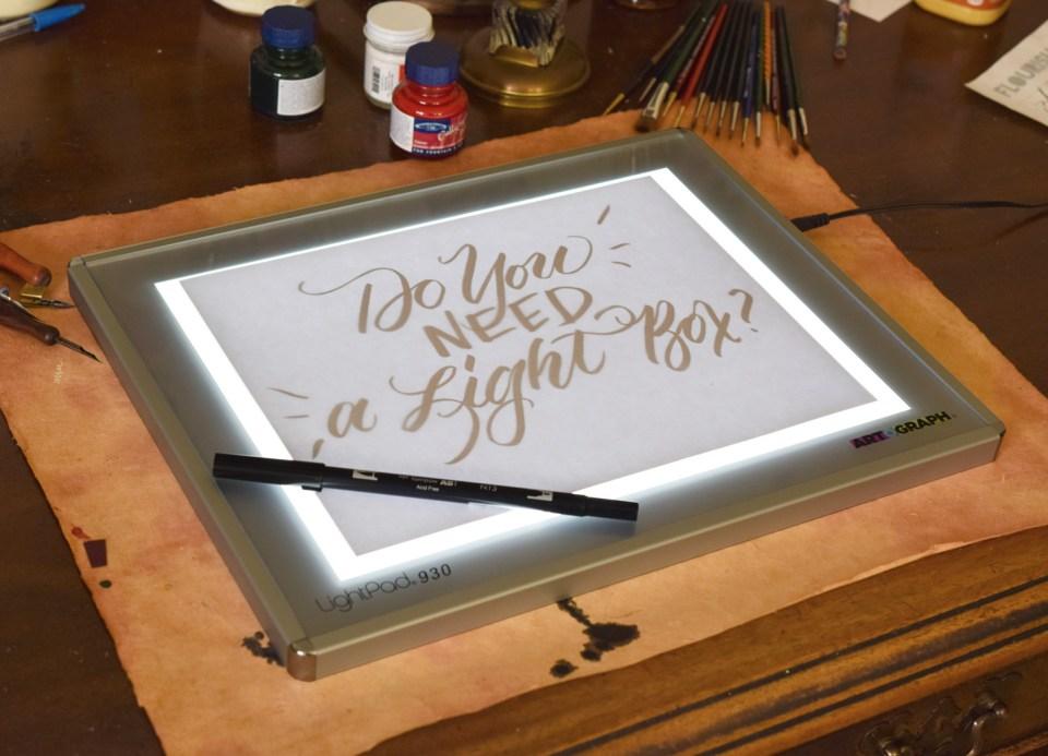 Do You Need a Light Box? | The Postman's Knock