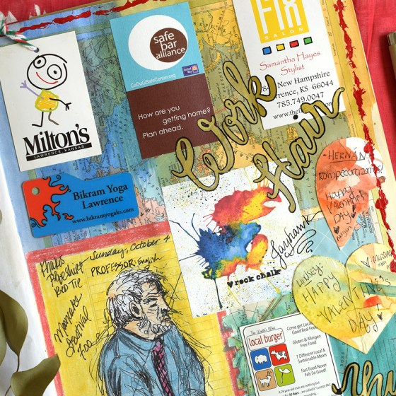 Sketchbook Journal Page Theme Prompts   The Postman's Knock