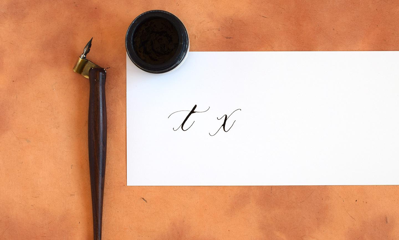 6 Helpful Calligraphy Hacks   The Postman's Knock