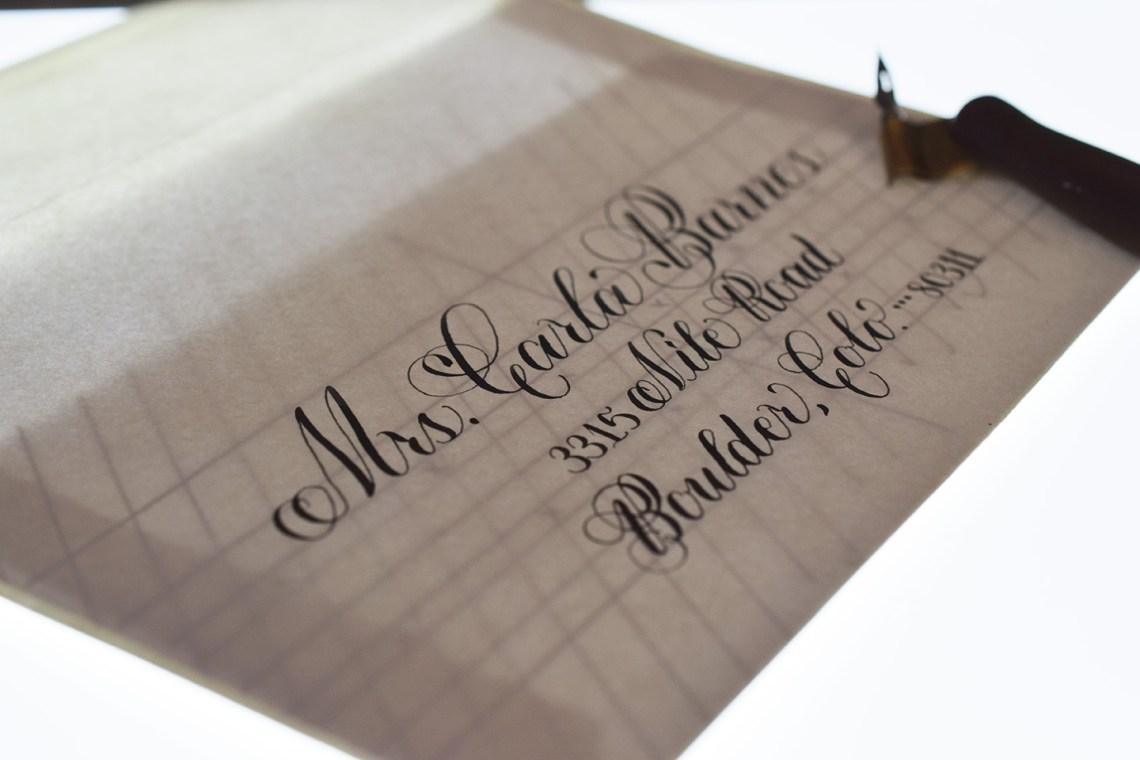 6 Helpful Calligraphy Hacks | The Postman's Knock