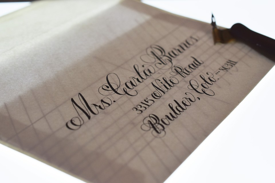 6 Helpful Calligraphy Hacks | The Postman's Knock