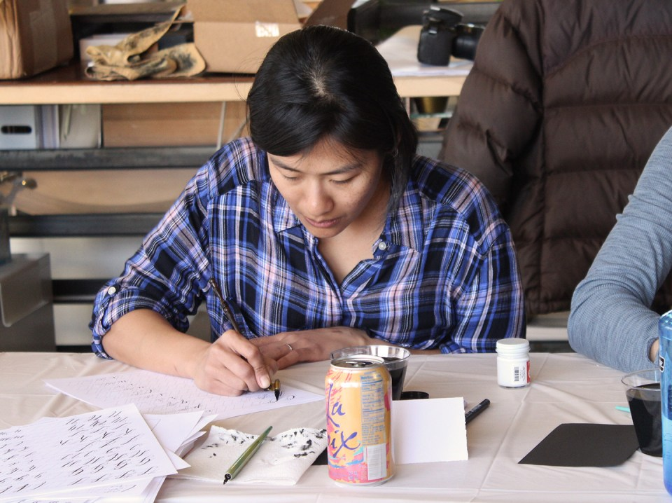 Announcing Spring 2017 Colorado Modern Calligraphy Workshops   The Postman's Knock