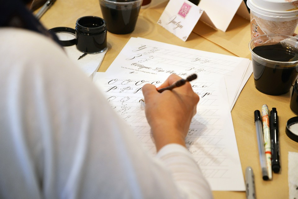 Writing Calligraphy | The Postman's Knock