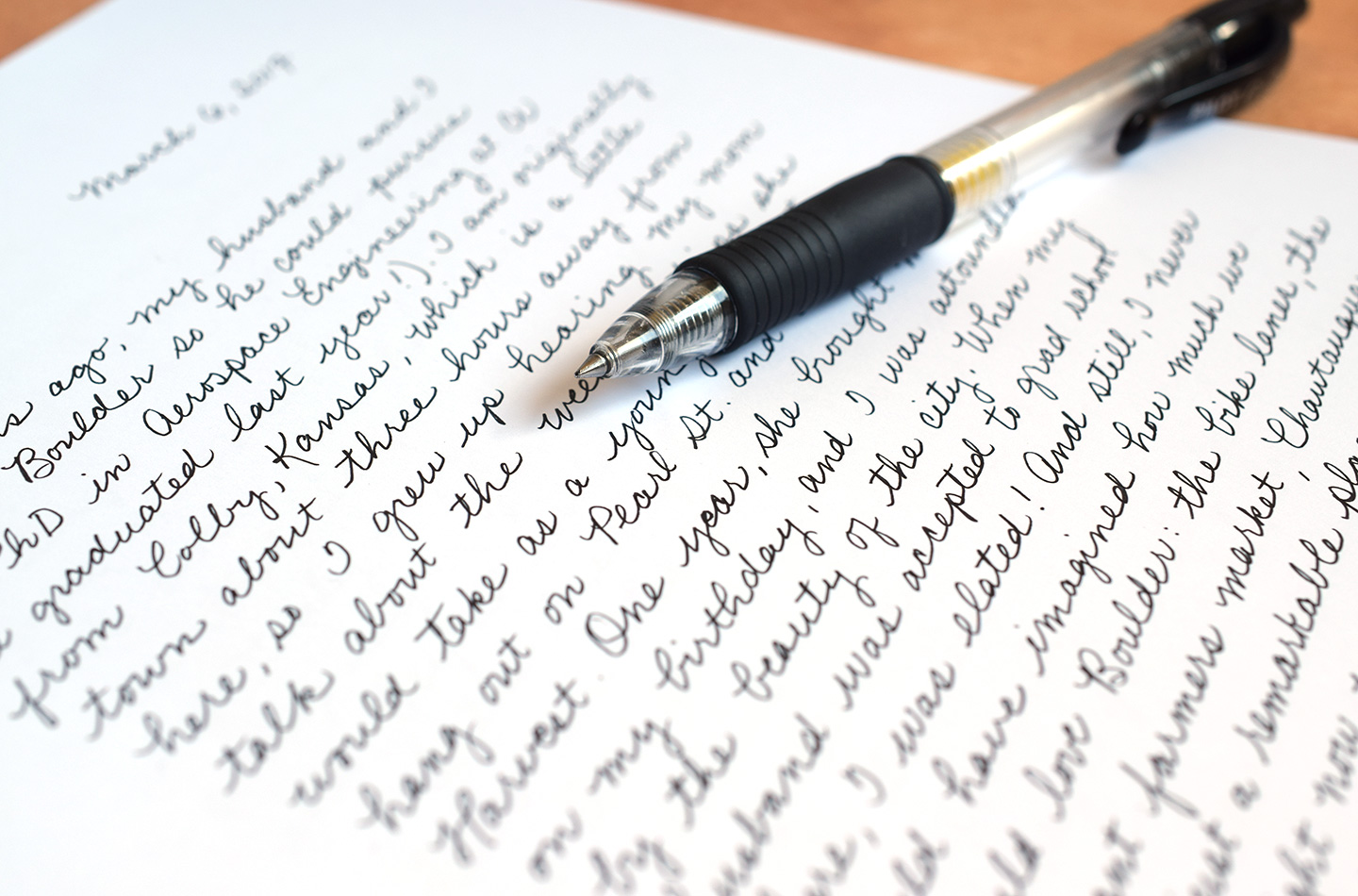 8 Tips To Improve Your Handwriting (Plus A Free Worksheet) – The Postman's  Knock