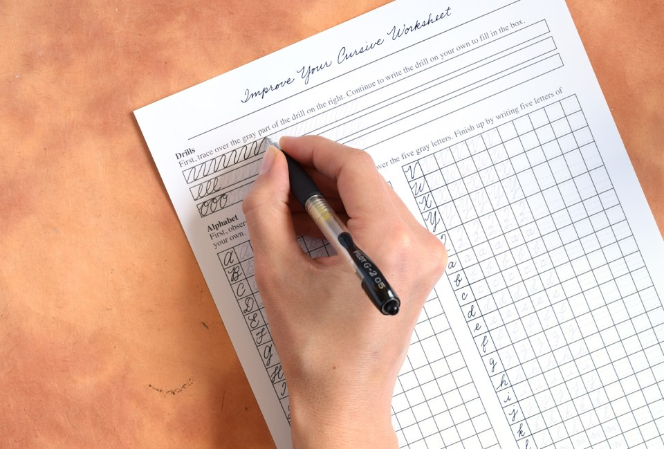 Tips to Improve Your Handwriting (Plus a Free Worksheet) | The ...