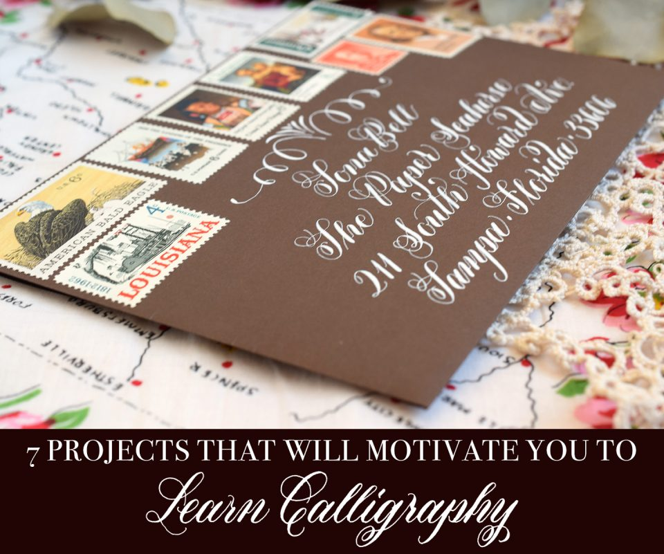 7 Projects That Will Motivate You to Learn Calligraphy | The Postman's Knock