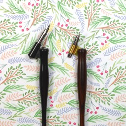 5 Reasons to Ditch Your Plastic Oblique Calligraphy Pen | The Postman's Knock