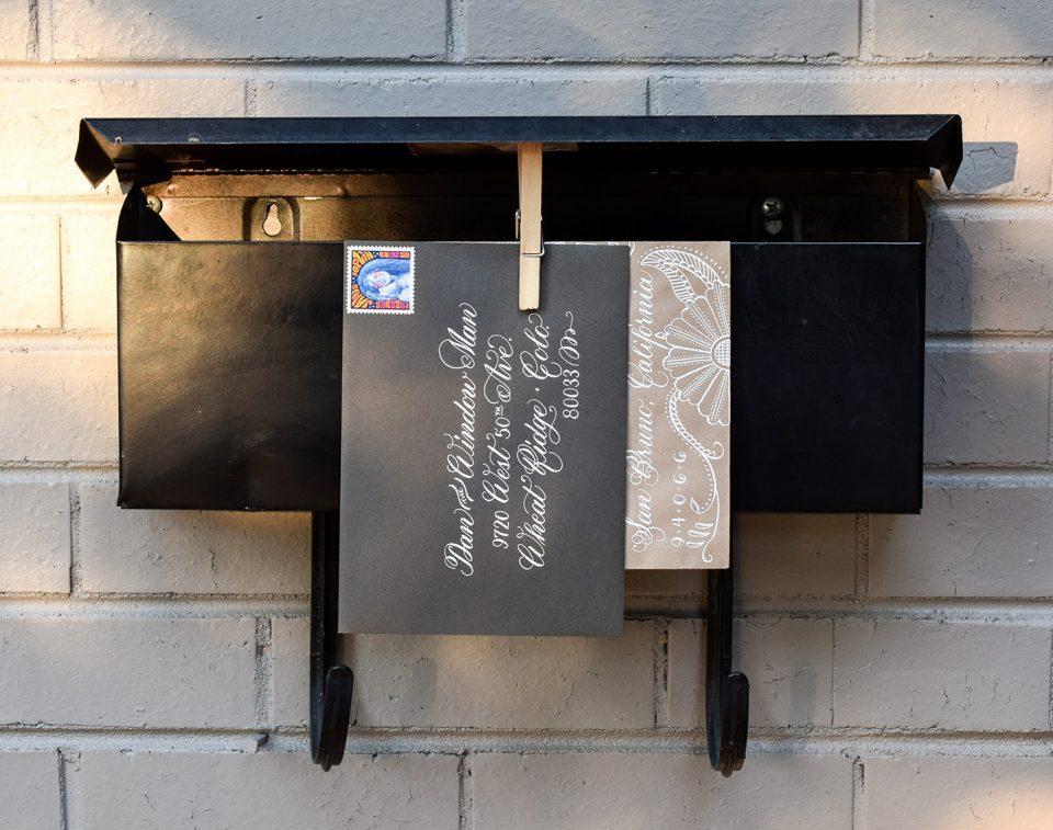 Dan the Window Man Envelope | The Postman's Knock