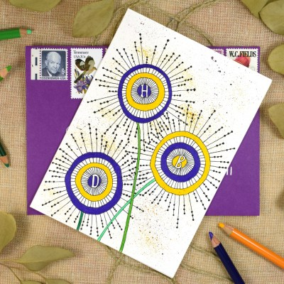 Millennial Birthday Card Tutorial