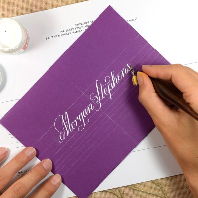 How to Make Calligraphy Guidelines