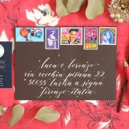 Kaitlin Style calligraphy loves envelopes!
