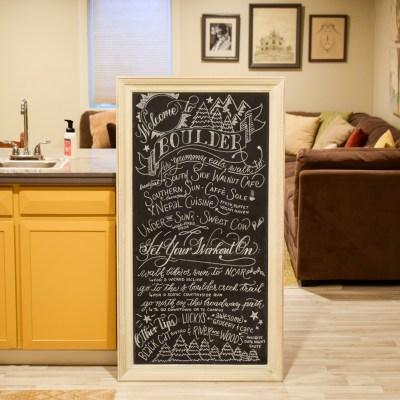 DIY Chalkboard Art Tutorial