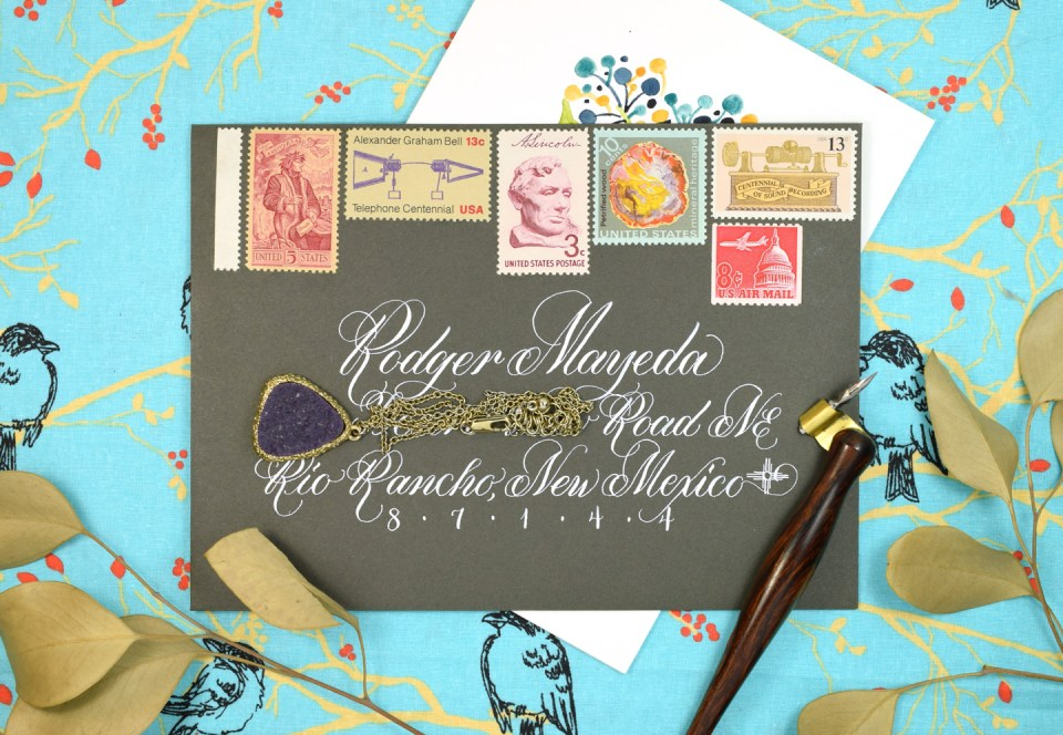 """Floral Sketch """"Just Because"""" Card Tutorial 