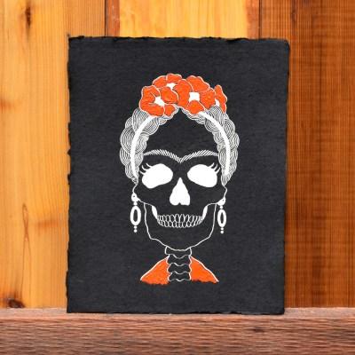 Frida Kahlo Halloween Art Tutorial – Includes Printable + Giveaway