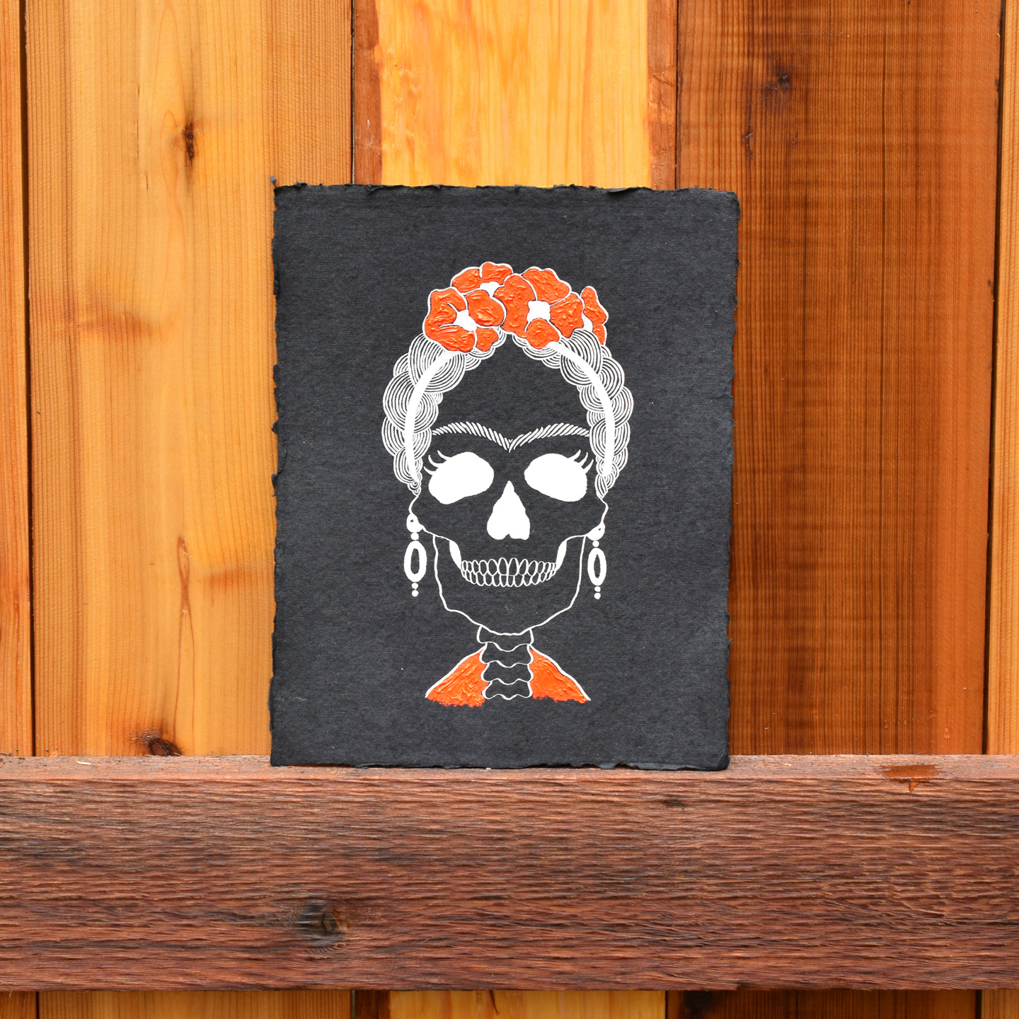 Frida Kahlo 8 X10 Halloween Art Printable