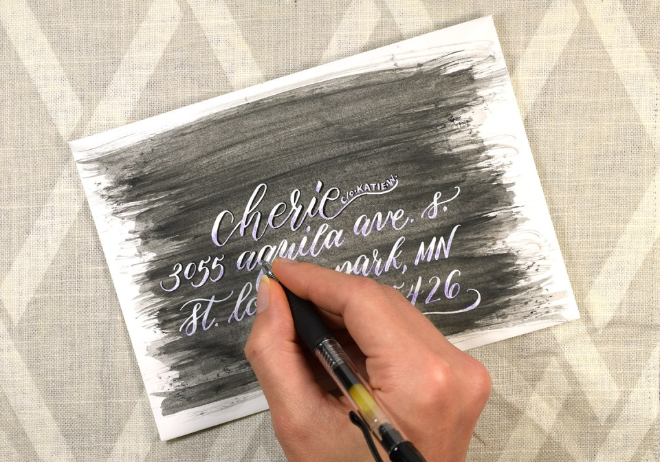 Phantom Blush Calligraphy Tutorial | The Postman's Knock
