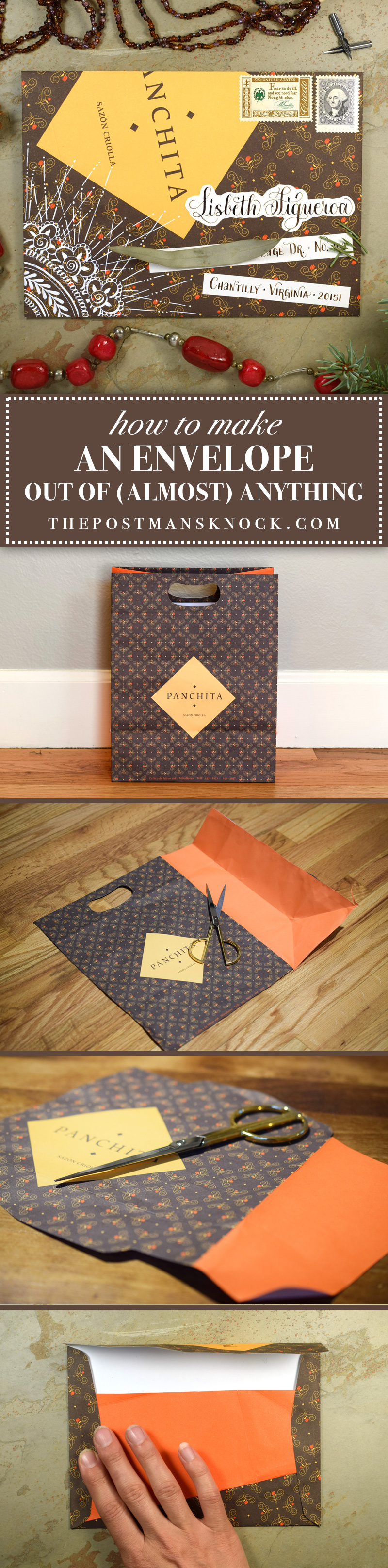 How to Make an Envelope Out of (Almost) Anything   The Postman's Knock