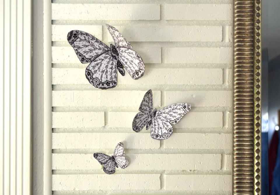 Butterfly Wall Art | The Postman's Knock