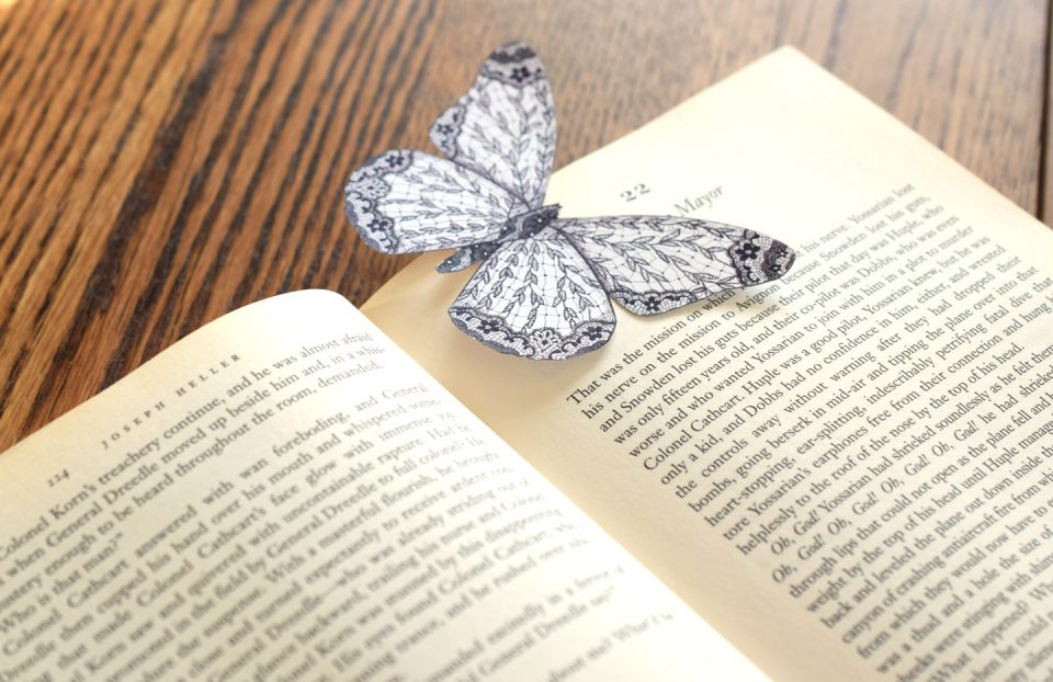 Butterfly Bookmark | The Postman's Knock