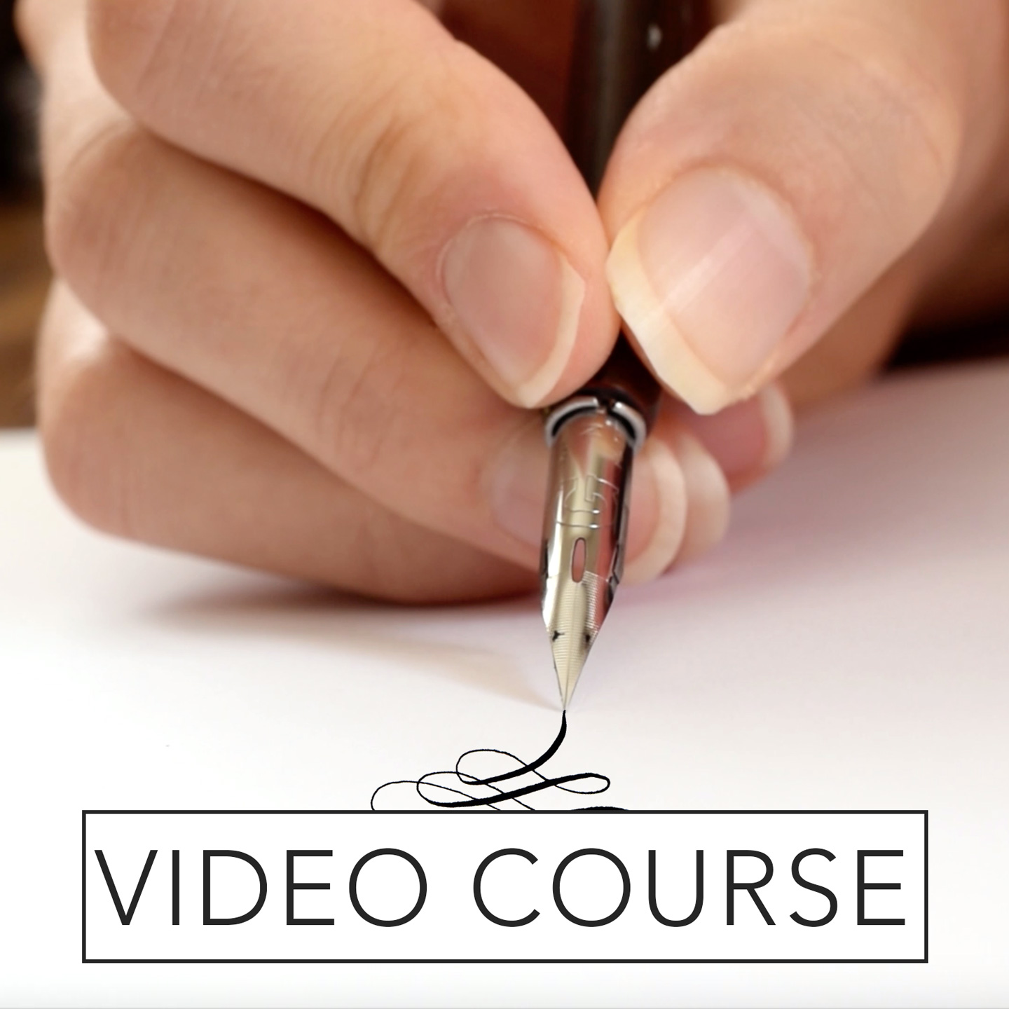 Beginner's Modern Calligraphy Online Course – The Postman's Knock