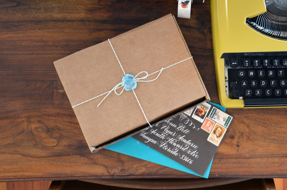 Calligraphy Kit Collaboration with The Paper Seahorse   The Postman's Knock