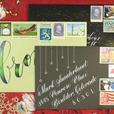 3 Speedy Mail Art Tutorials