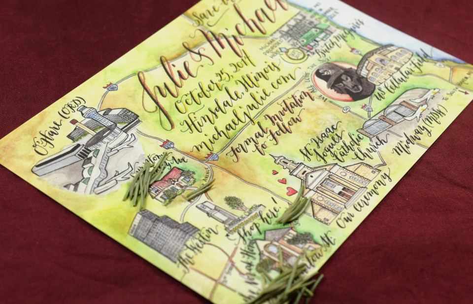 How to Create an Illustrated Watercolor Map   The Postman's Knock