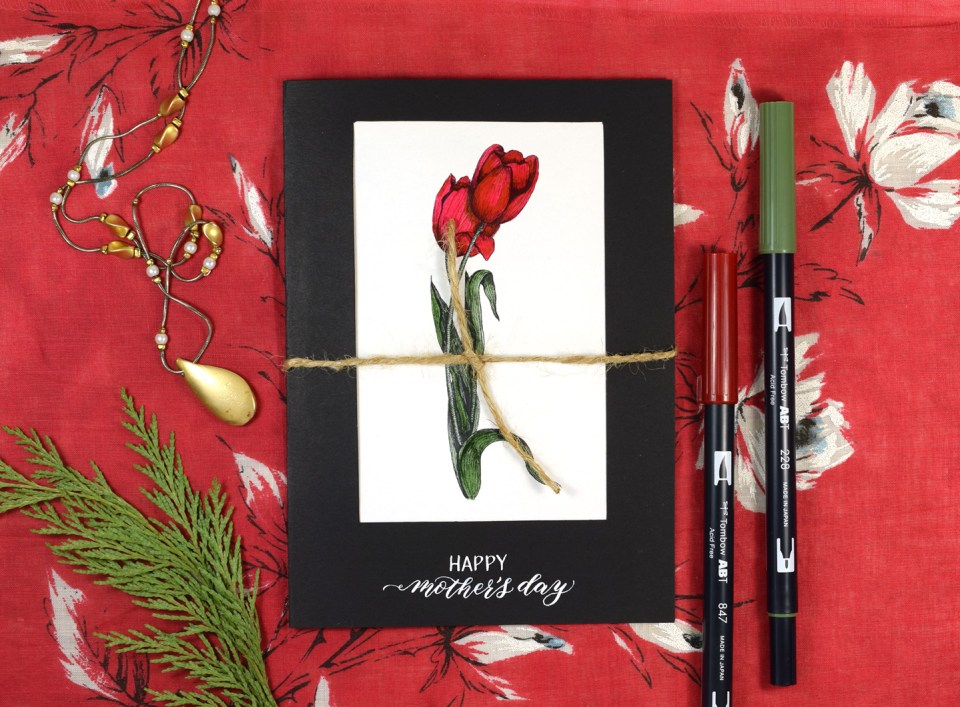 Quick Mother's Day Card Tutorial   The Postman's Knock