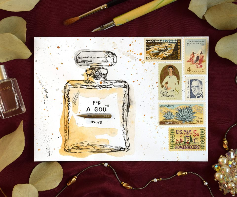 12 Artistic Envelope Ideas   The Postman's Knock
