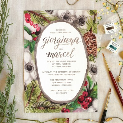 10 Artistic Wedding Invitation Ideas