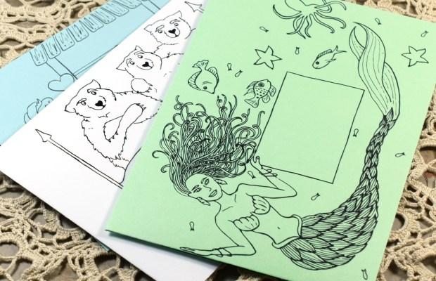 These three printable envelope templates will delight anyone who enjoys a good fairytale!
