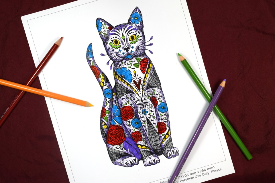Halloween Artwork or Coloring Page | The Postman's Knock