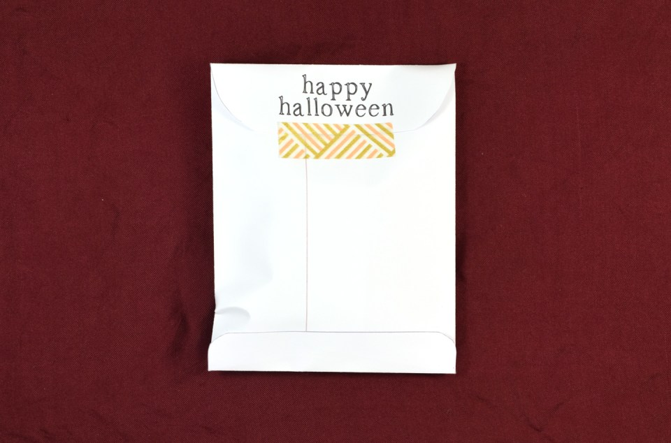 Candy Packet Halloween Printables | The Postman's Knock