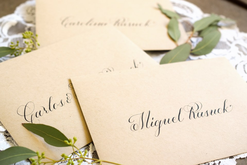 How to Stand Out From the Crowd When Selling Calligraphy | The Postman's Knock