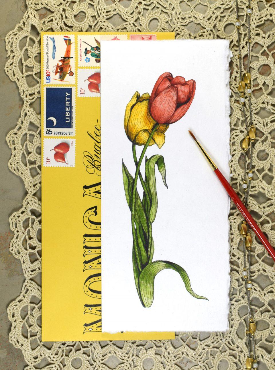 Elegant Printable Watercolor Cards + a Freebie | The Postman's Knock