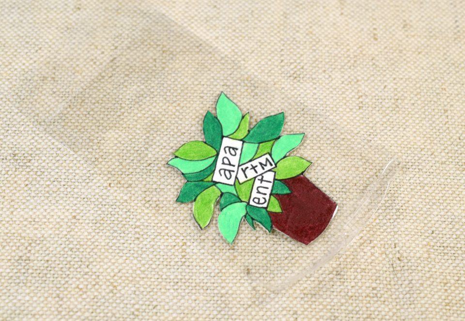 Artistic DIY Key Tag Labels Tutorial | The Postman's Knock