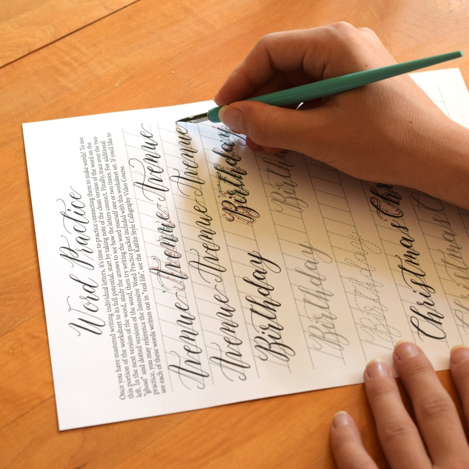 Lesson 4: Connecting Letters to Write Words