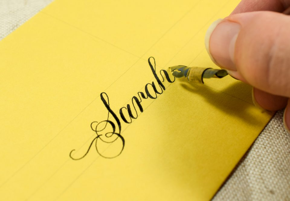 "Calligraphy Nib Spotlight: The Brause Steno (""Blue Pumpkin"") | The Postman's Knock"