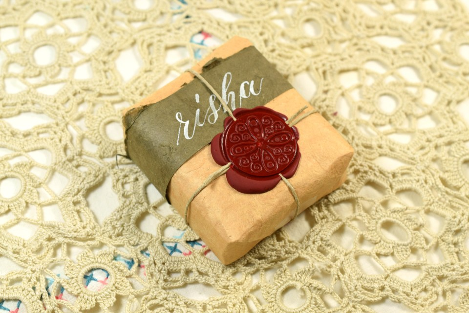 Gift with Calligraphy   The Postman's Knock