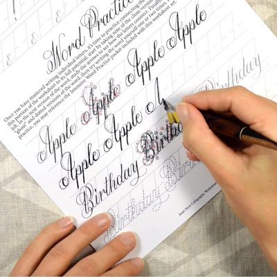 Introducing the Janet Style Calligraphy Video Course