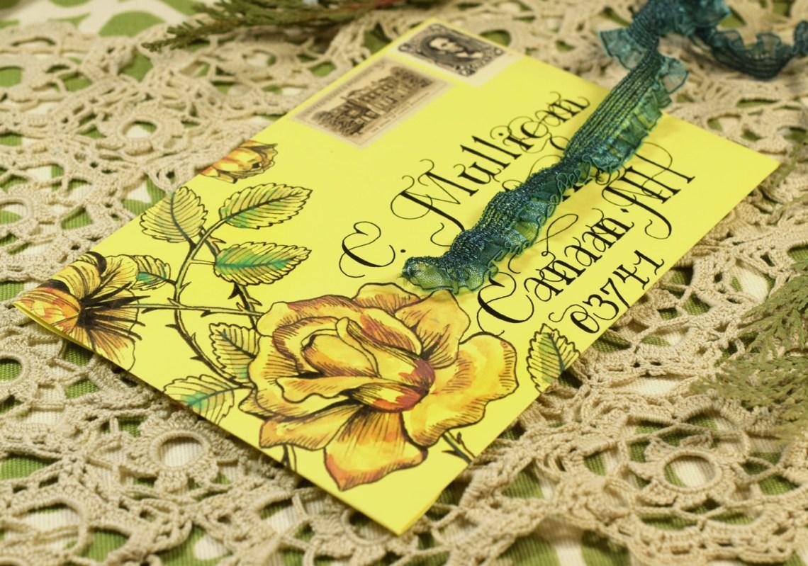 Envelope Art featuring Lasso Lettering