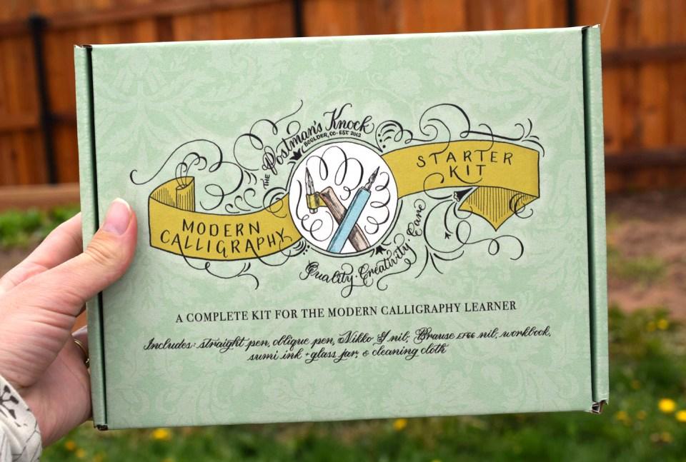 TPK Modern Calligraphy Starter Kit Box | The Postman's Knock