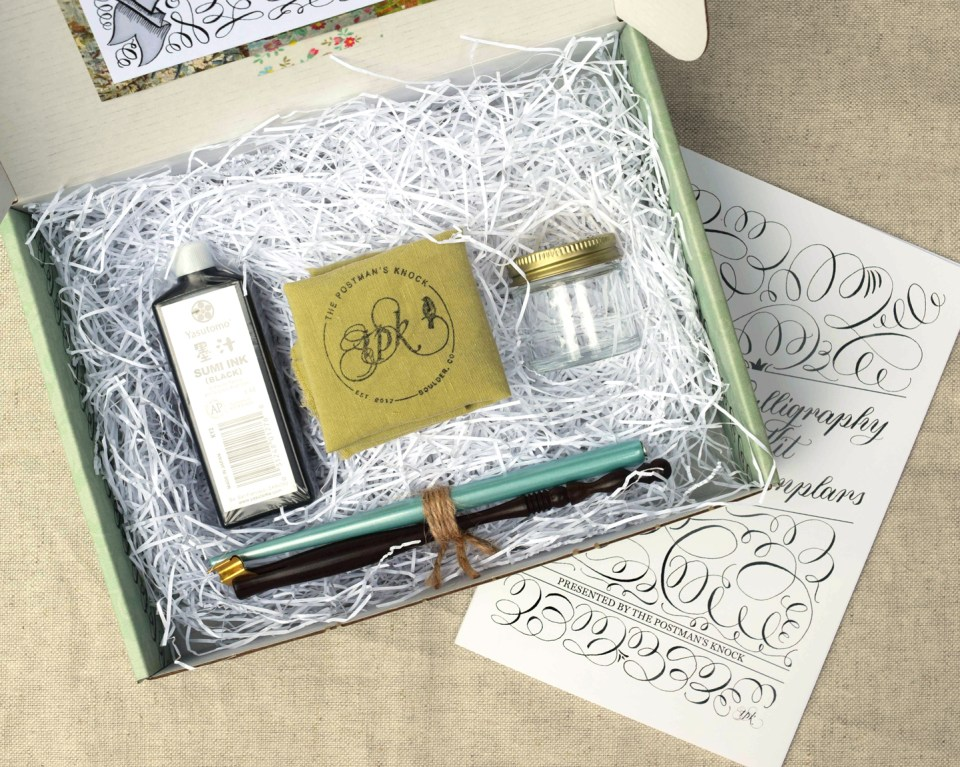 The TPK Modern Calligraphy Starter Kit | The Postman's Knock