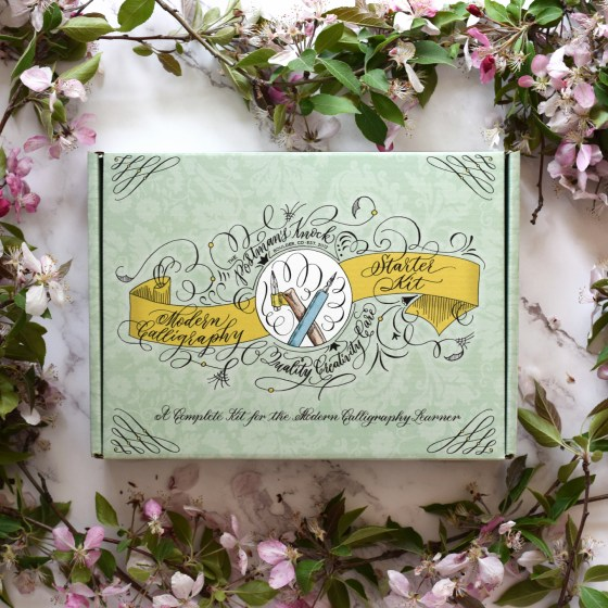 This calligraphy kit provides an artistic and inspirational way to kick off your calligraphy journey!