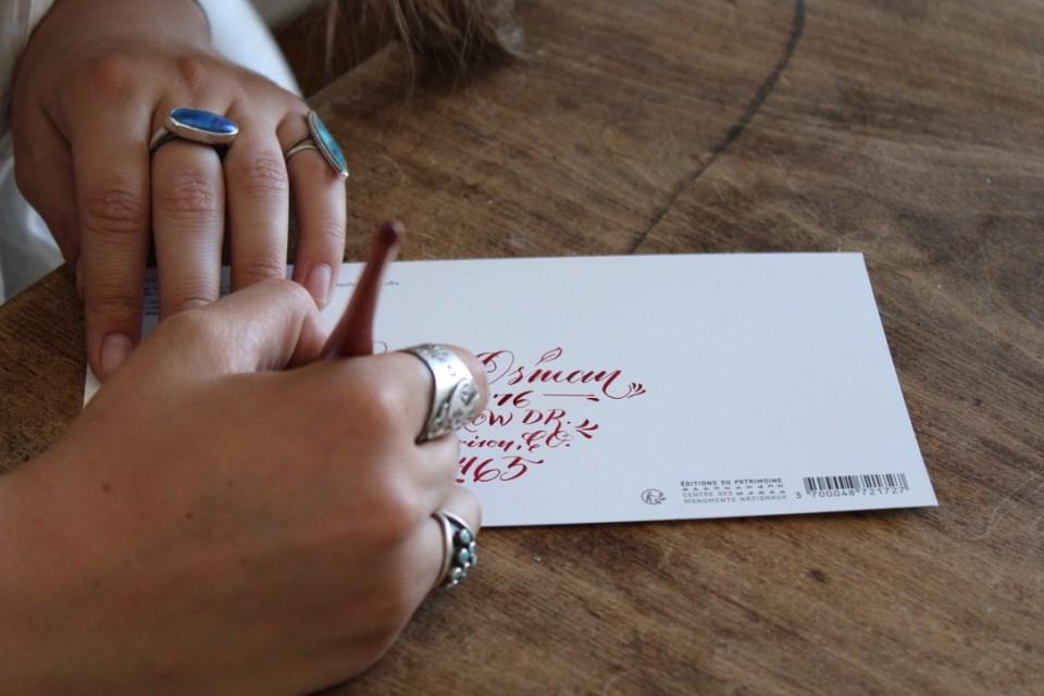 Writing in Paris