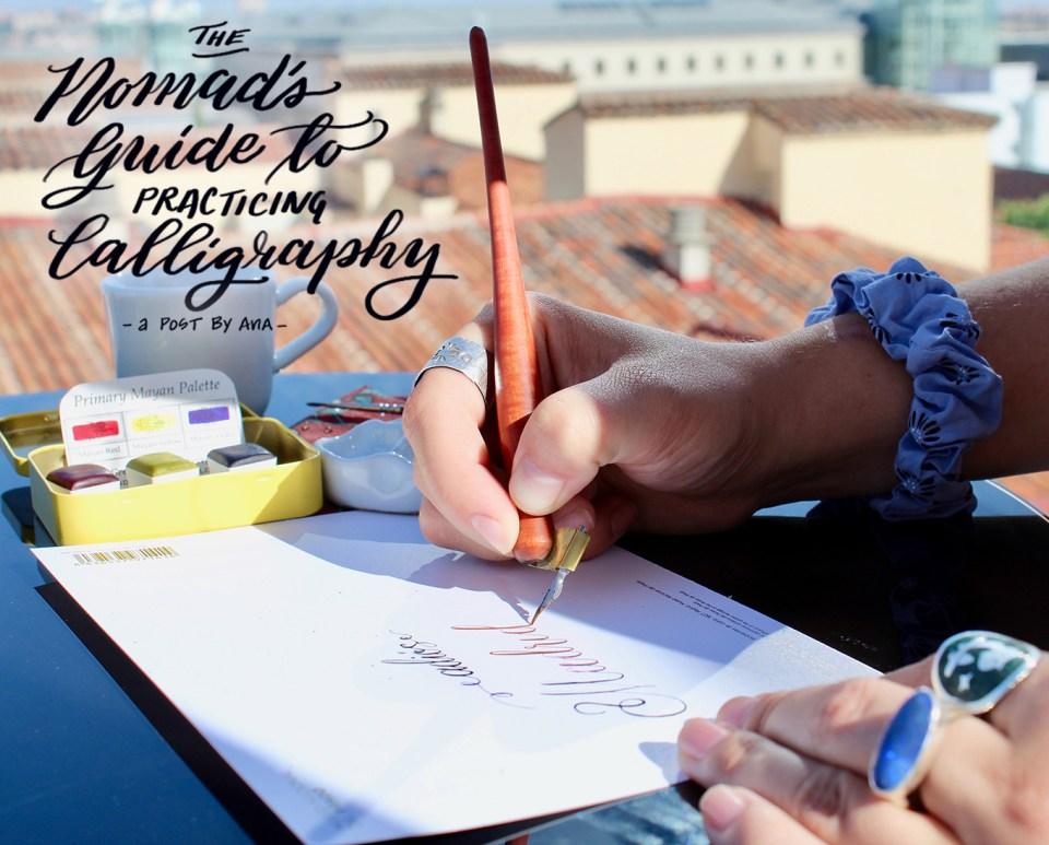 The Nomad's Guide to Practicing Calligraphy   The Postman's Knock