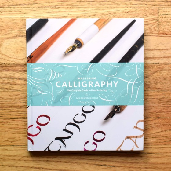 This lovely hardcover book is wonderful for people who are interested in broad-tip nib calligraphy!